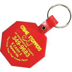 Octagon Key Tag for Promotion