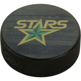 Official Game Use Ice Hockey Puck (Full Color Logo)