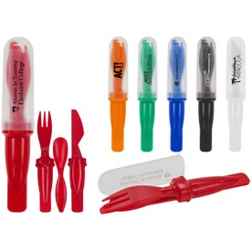 On the Go Cutlery Set for your School