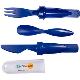 Promotional On The Go Flatware Set