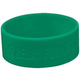 One Inch Wristbands Branded with Your Logo