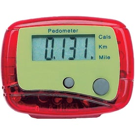 Advertising One Step Pedometer