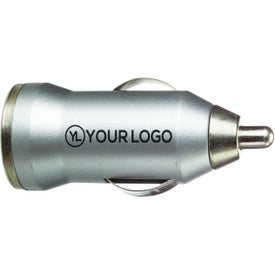On-The-Go USB Car Charger (Matte Silver)
