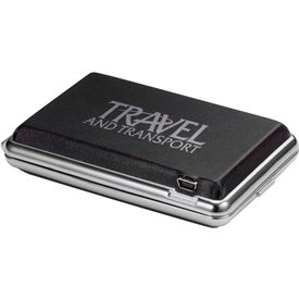 Imprinted OptiSol Solar Mobile Charger