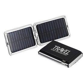 Monogrammed OptiSol Solar Mobile Charger