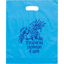 Orchid Frosted Bright Plastic Bag