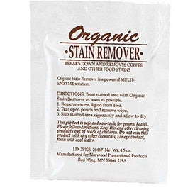 Organic Stain Remover Packet for Promotion