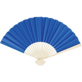 Oriental Folding Fan Imprinted with Your Logo
