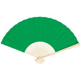 Branded Oriental Folding Fan