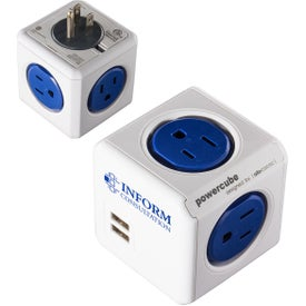 Power Cube 2 USB and 4 AC Wall Charger