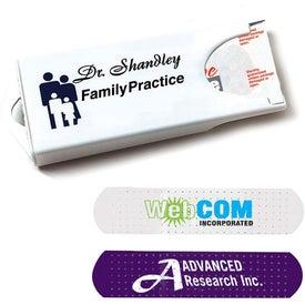 White Dispenser with White Bandages