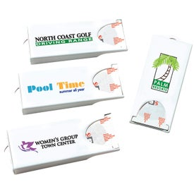 Printed Original White Dispenser with Colored Custom Bandages