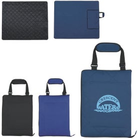 Outdoor Picnic Mat in Carrying Case for Your Company