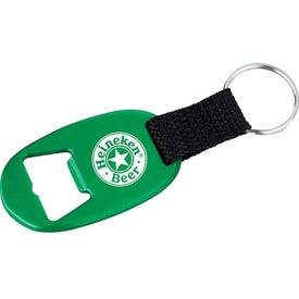 Branded Oval Bottle Opener