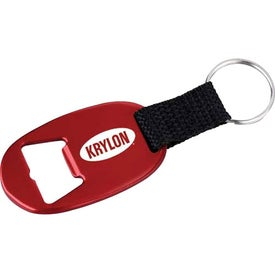 Oval Bottle Opener for Marketing