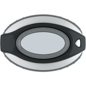 Oval Clip-On Pedometer/ Clock with Your Logo
