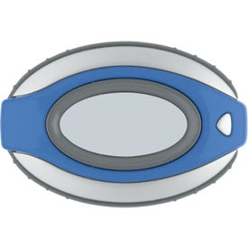 Company Oval Clip-On Pedometer/ Clock