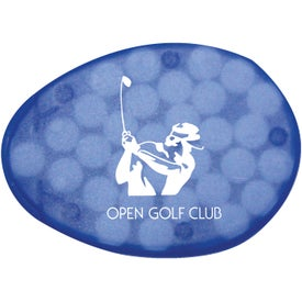 Oval Credit Card Mint for Advertising