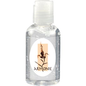 Oval Alcohol Hand Sanitizer Printed with Your Logo