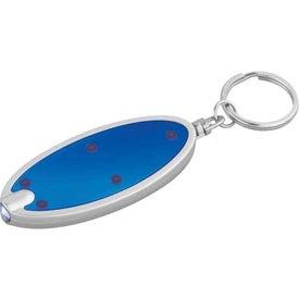Branded Oval Key-Light