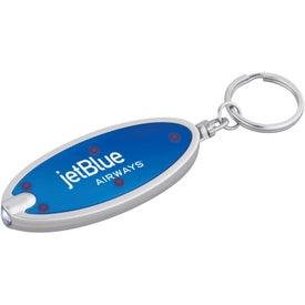 Oval Key-Light with Your Logo