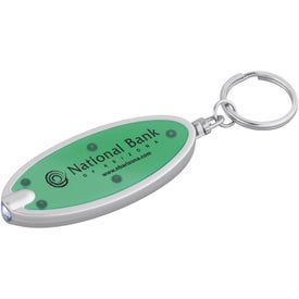 Oval Key-Light with Your Slogan