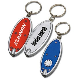 Oval Key Tag Light