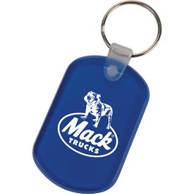 Personalized Oval Key Tags