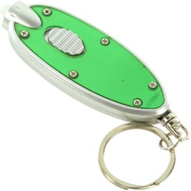 Promotional Oval LED Key Chain