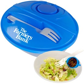 Oval Lunch To-Go Container for Promotion