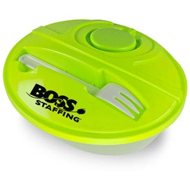 Promotional Oval Lunch To-Go Container