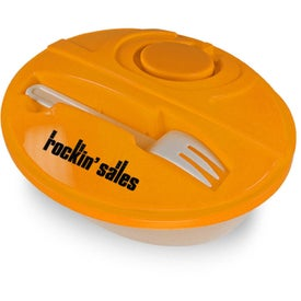 Logo Oval Lunch To-Go Container