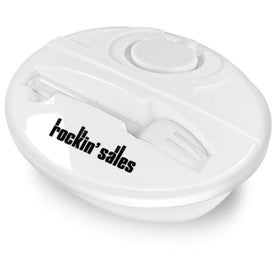 Customized Oval Lunch To-Go Container