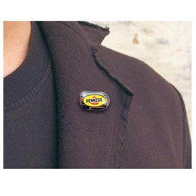 Oval Magnetic Pin for Advertising