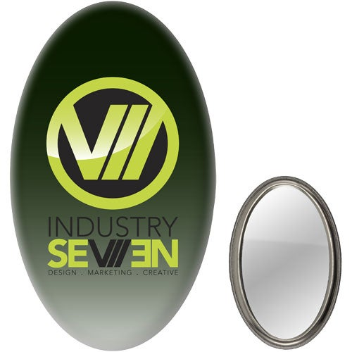 Oval Mirror Button