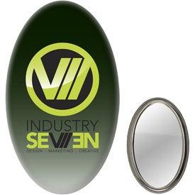 Oval Mirror Button
