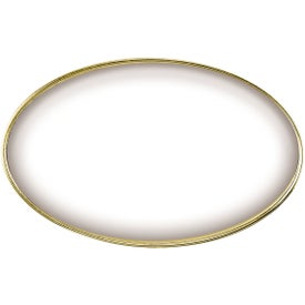 Branded Oval Name Badge