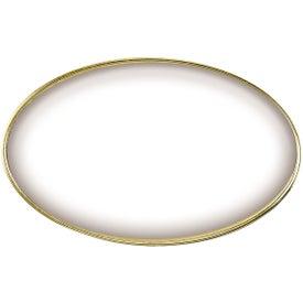Branded Oval Name Badge