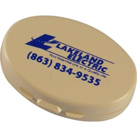 Promotional Oval Pillcase - Recycled