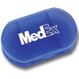 Advertising Oval Pill Box