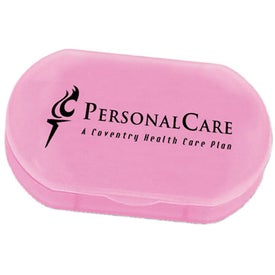 Oval Pill Box with Your Slogan