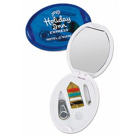 Oval Sew Kit with Mirror