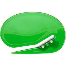 Personalized Oval Shaped Keystone Cutter