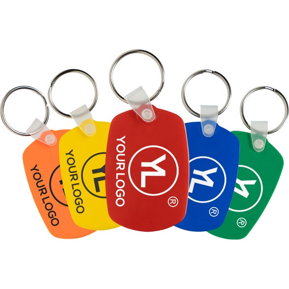 Oval Soft Key Tag