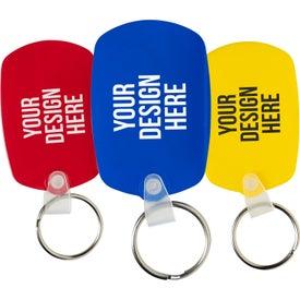 Oval Soft Key Tag