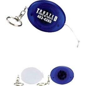 Monogrammed Oval Tape Measure