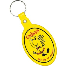 Oval Key Tag