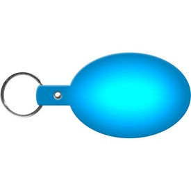 Imprinted Oval Key Tag