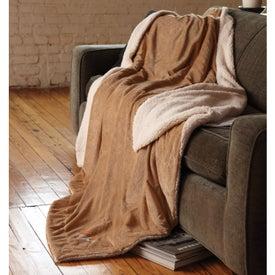 Oversized Micro-Mink Sherpa Blanket