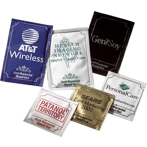 Pacific Anti-bacterial Gel Packets